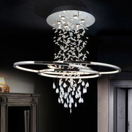 Pendule, Lustre suspendate - Lustra LED moderna design elegant BRUMA