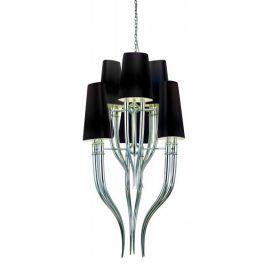 Lustra eleganta design LUX ultra-modern DIABLO 3+3 BLACK