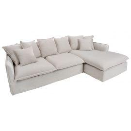 Coltare - Canapea comfortabila cu sezlong dreapta Heaven 255cm