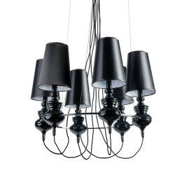 Candelabre, Lustre - Candelabru modern design elegant Baroco 6 Black