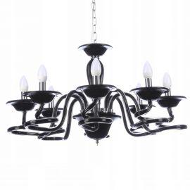 Candelabre, Lustre - Candelabru design elegant Bolton 8 BLACK