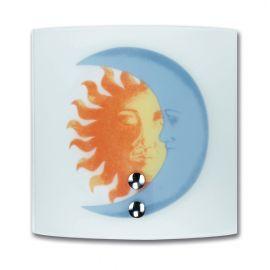 Iluminat pentru copii - Aplica perete camera copii Sole-luna