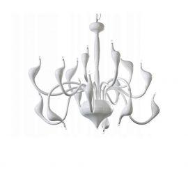 Pendule, Lustre suspendate - Lustra design modern Snake 2 white