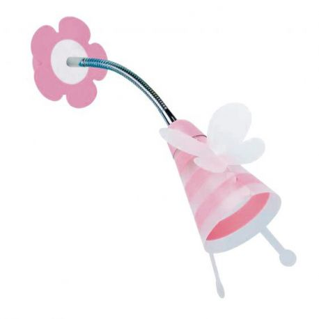 Iluminat pentru copii - Aplica perete camera copii FATINA, roz