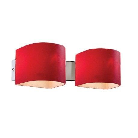 Aplice, corpuri de iluminat pentru pereti - Aplica PUZZLE AP2 rosso