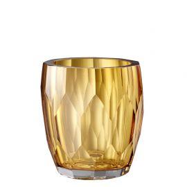 Vas decorativ design elegant Marquis galben