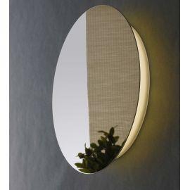 Aplica LED lumina ambientala Eclisse 30cm, crom