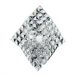 Aplice, corpuri de iluminat pentru pereti - Aplica eleganta design modern cu cristale K9 Rumba transparent