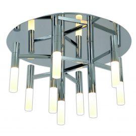 Lustra LED dimabila, design modern Castle, 50cm