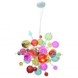 Candelabre, Lustre - Lustra moderna design deosebit Explosion Multicolor