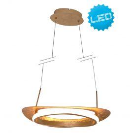 Candelabre, Lustre - Lustra LED dimabila, suspendata design modern Pisa 60x40cm
