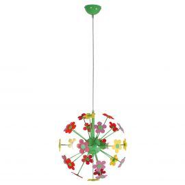 Iluminat pentru copii - Lustra suspendata camera copii Flower