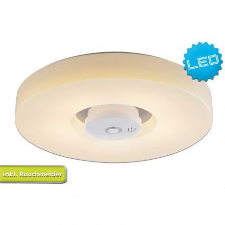 Plafoniere - Plafoniera LED cu detector de fum Pisa