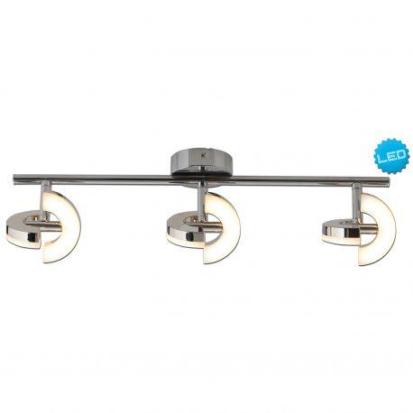 Plafoniere cu spoturi, Spoturi aplicate - Plafoniera LED moderna cu 3 spoturi directionabil Affi