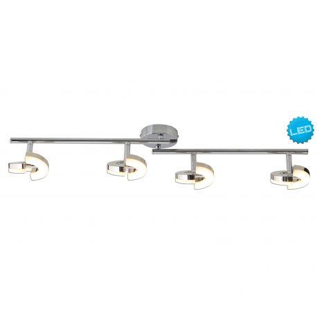 Plafoniere cu spoturi, Spoturi aplicate - Plafoniera LED moderna cu 4 spoturi directionabil Affi