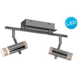 Plafoniere cu spoturi, Spoturi aplicate - Plafoniera LED moderna cu 2 spoturi directionabile Garda