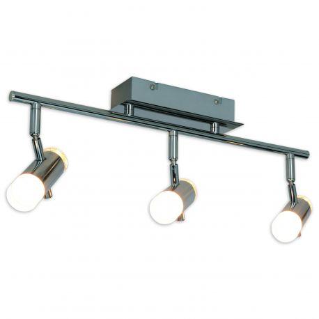 Plafoniere cu spoturi, Spoturi aplicate - Plafoniera LED moderna cu 3 spoturi directionabile Garda