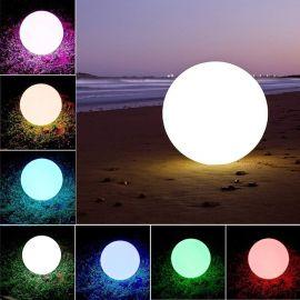 Lampi decorative si solare - Lampa decorativa cu protectie IP68 RGB LED Bowl, 57cm