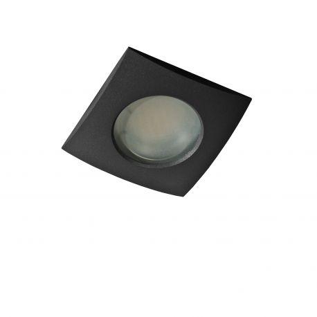 Iluminat pentru baie - Spot pentru baie incastrabil Ezio 1 negru
