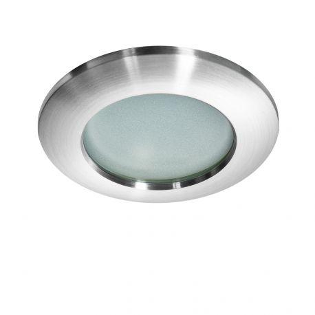Iluminat pentru baie - Spot pentru baie incastrabil Emilio 1 aluminiu