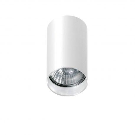 Plafoniere cu spoturi, Spoturi aplicate - Spot aplicat tavan/plafon stil modern MINI ROUND Alb