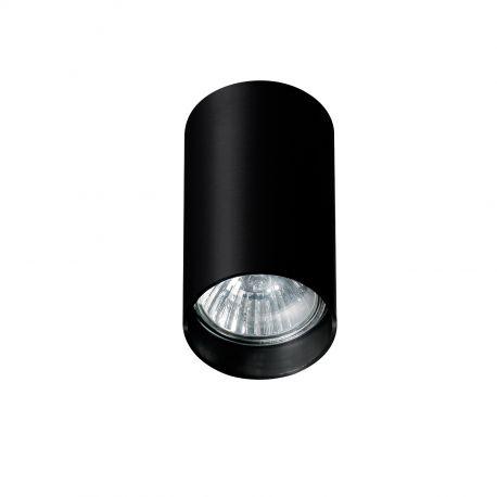 Plafoniere cu spoturi, Spoturi aplicate - Spot aplicat tavan/plafon stil modern MINI ROUND negru
