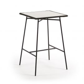 Mese Bar - Masa bar 70x70cm FREEMAN, gri deschis