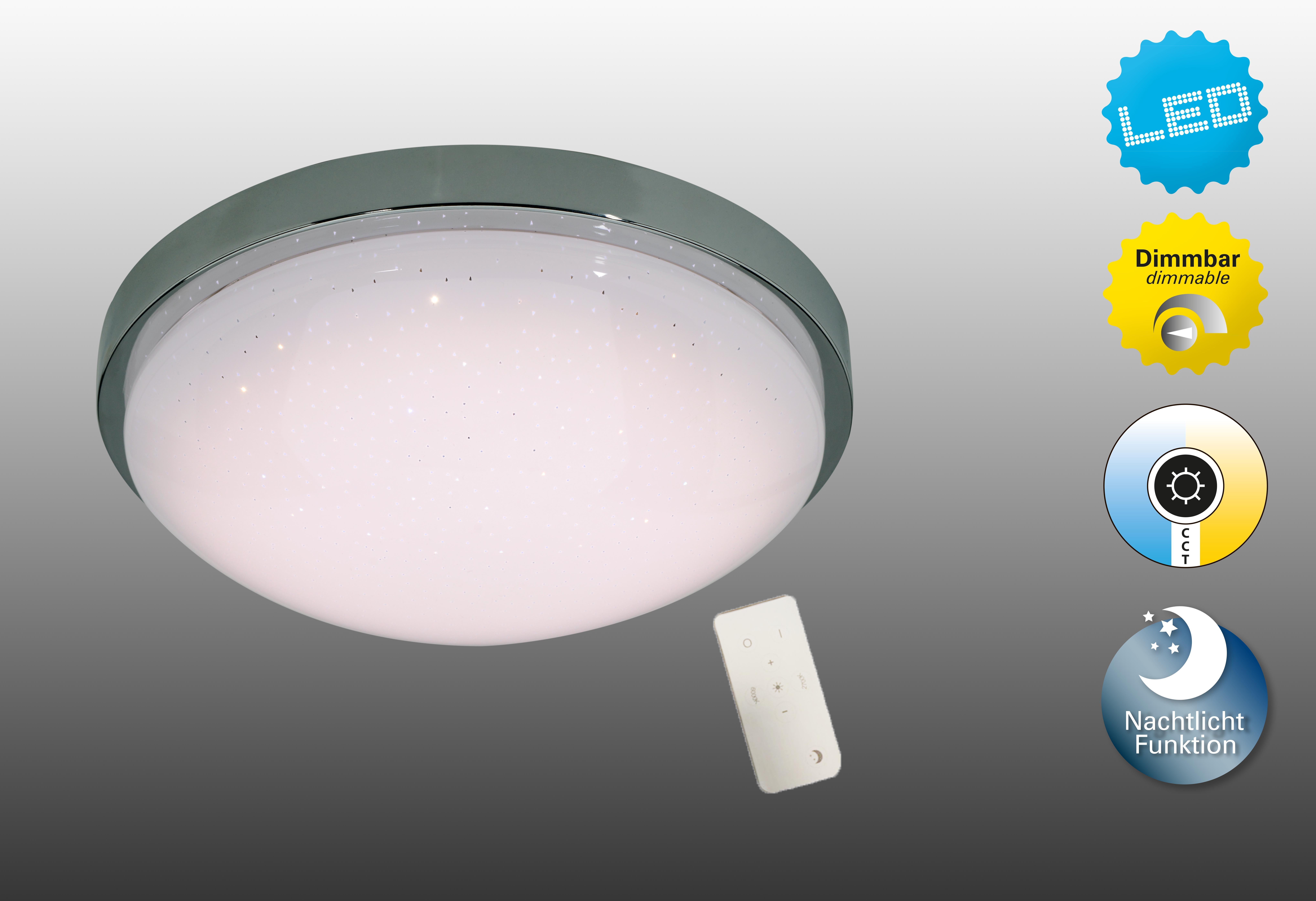Plafoniera Led Cu Telecomanda : Corpuri de iluminat plafoniera dimabila cu led si telecoma