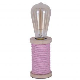 Veioze - Veioza, lampa de masa design retro-vintage Max, roz
