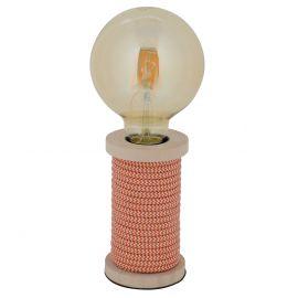 Veioze - Veioza, lampa de masa design retro-vintage Max, portocaliu
