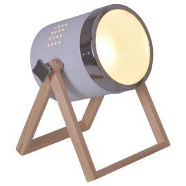 Lampi birou - Lampa de masa design proiector Tim, alb