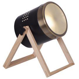 Lampi birou - Lampa de masa design proiector Tim, negru