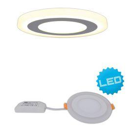 Aplice, corpuri de iluminat pentru pereti - Aplica LED incastrabila, Interna 14,3cm