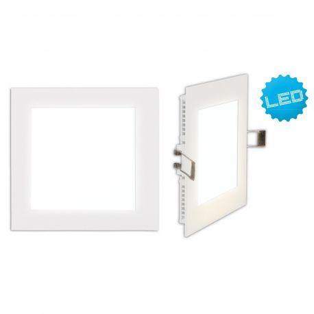 Aplice, corpuri de iluminat pentru pereti - Aplica LED incastrabila, Interna 12x12cm