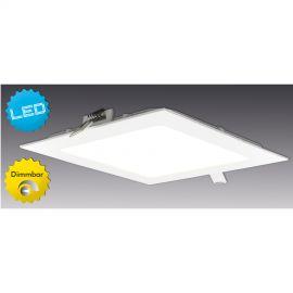 Aplice, corpuri de iluminat pentru pereti - Aplica LED dimabila, incastrabila, Dimplex 17x17cm