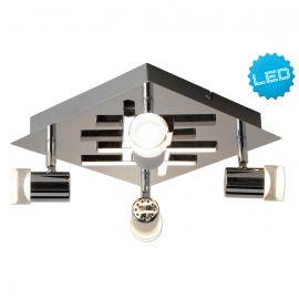 Plafoniere cu spoturi, Spoturi aplicate - Plafoniera LED moderna cu 4 spoturi LED London