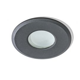 Iluminat pentru baie - Spot pentru baie incastrabil OSCAR negru
