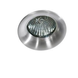 Spoturi tavan fals - Spot incastrat tavan/plafon Ivo 1 aluminiu
