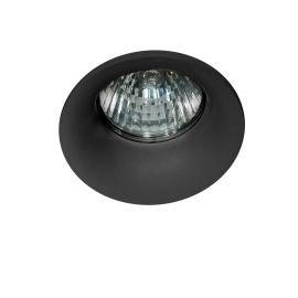 Spoturi tavan fals - Spot incastrat tavan/plafon Ivo 1 negru