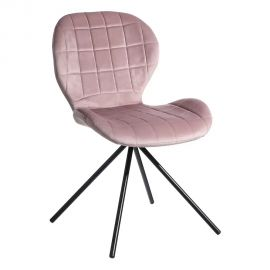 Seturi scaune, HoReCa - Set de 2 scaune Evilyna, roz pal