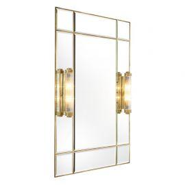Oglinda design LUX finisaj alama, Beaumont cu iluminat, 90x140cm