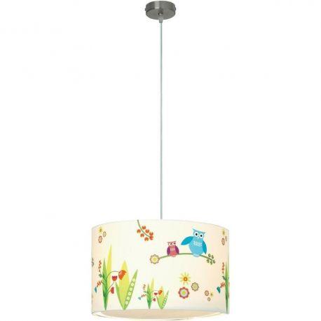 Iluminat pentru copii - Pendul design modern copii Birds