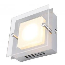 Aplice, corpuri de iluminat pentru pereti - Aplica perete sau tavan LED design modern Edingburgh, 12x12cm
