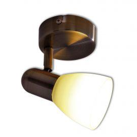 Aplica perete sau tavan cu spot E14 LED Mestre