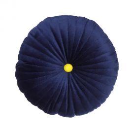 Set de 2 perne 30x30cm MAREA, catifea albastra