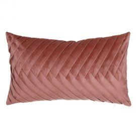 Perna 50x30cm MAREA, catifea roz