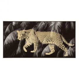 Tablou decorativ Leopardo, 120x80cm