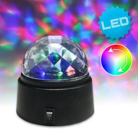 LED retro-party camera tineret Disco