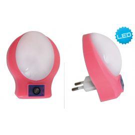 Lampa de veghe camera copii Jasper, roz
