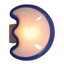 Lampa touch cu baterii pentru camera copii Jasper moon, albastru